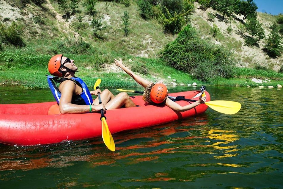 Le Migliori Canoe Gonfiabili a 2 e 3 Posti