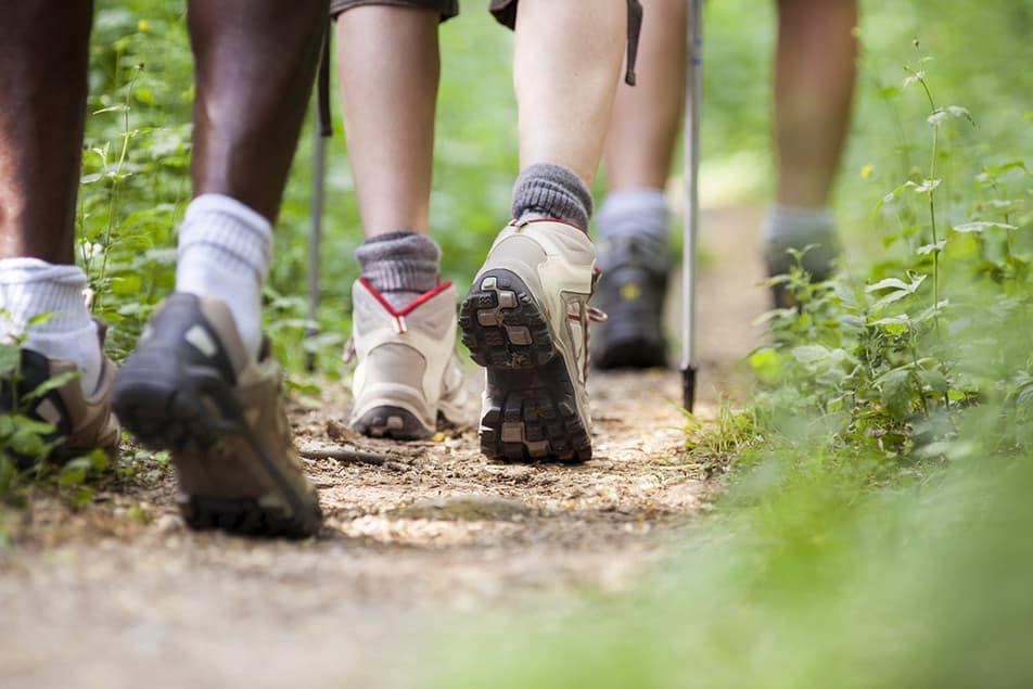 diverse scarpe da trekking
