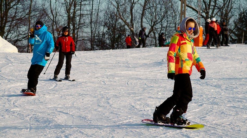 primi passi snowboard