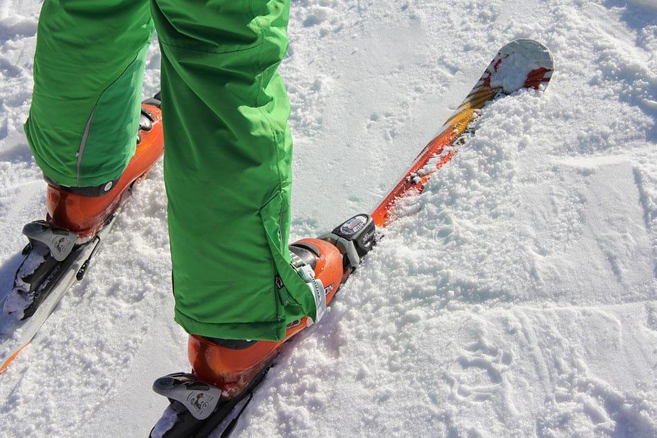 sci sulla neve