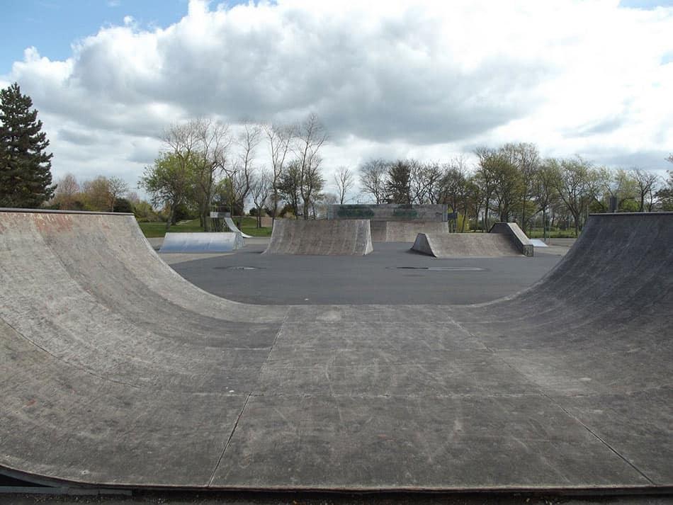 skate park aperto