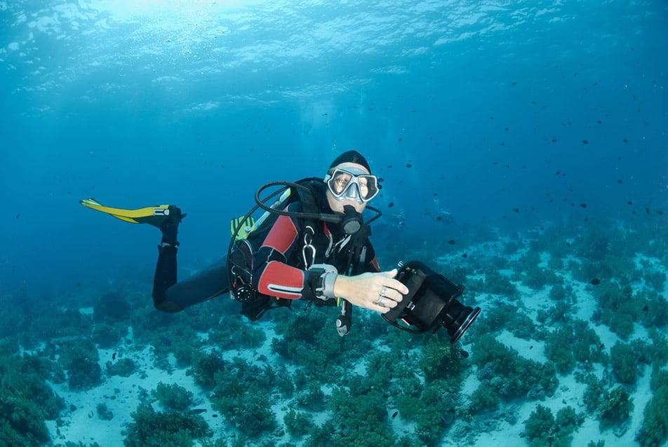 videocamera professionale subacquea