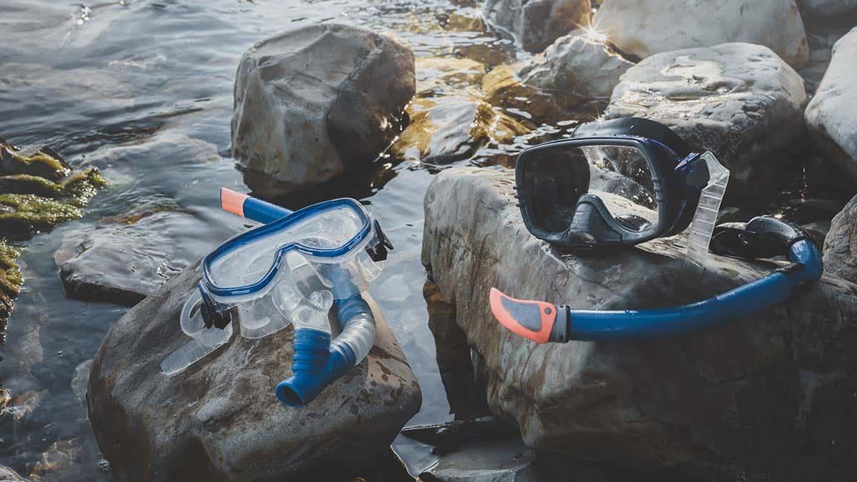 maschera per immersione