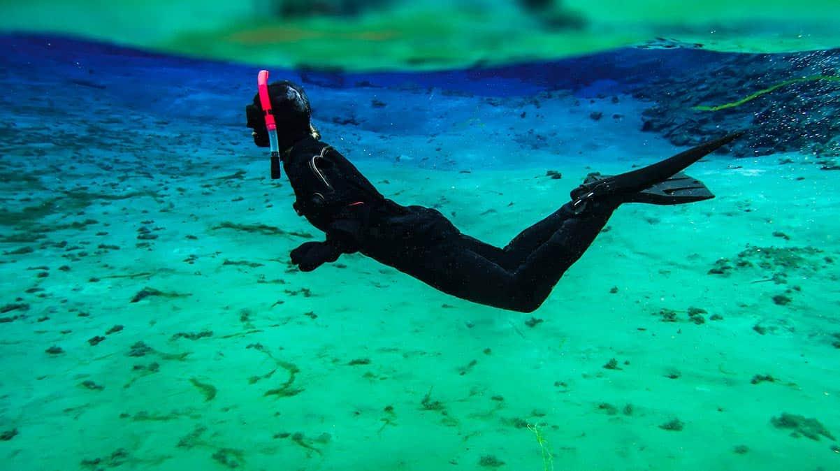 muta per immersioni