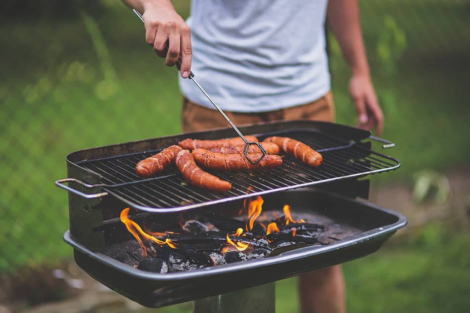 barbecue da camping