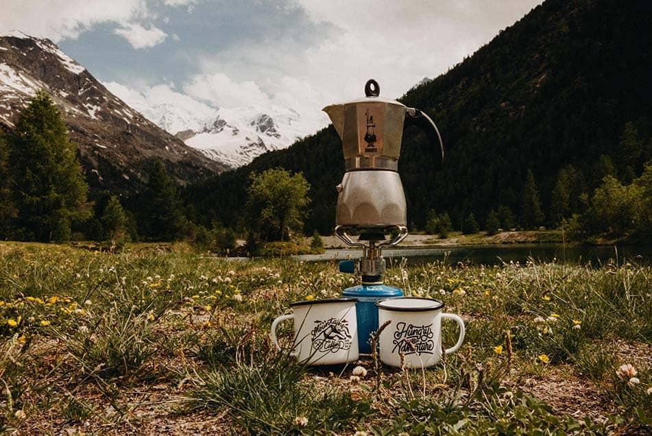 caffe fornello a gas campeggio