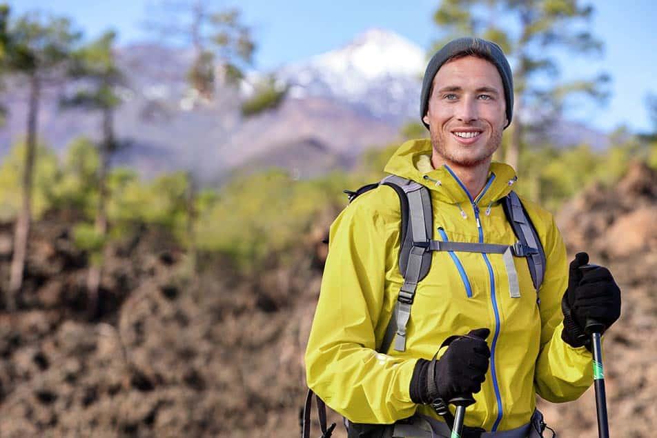 giacca per il trekking