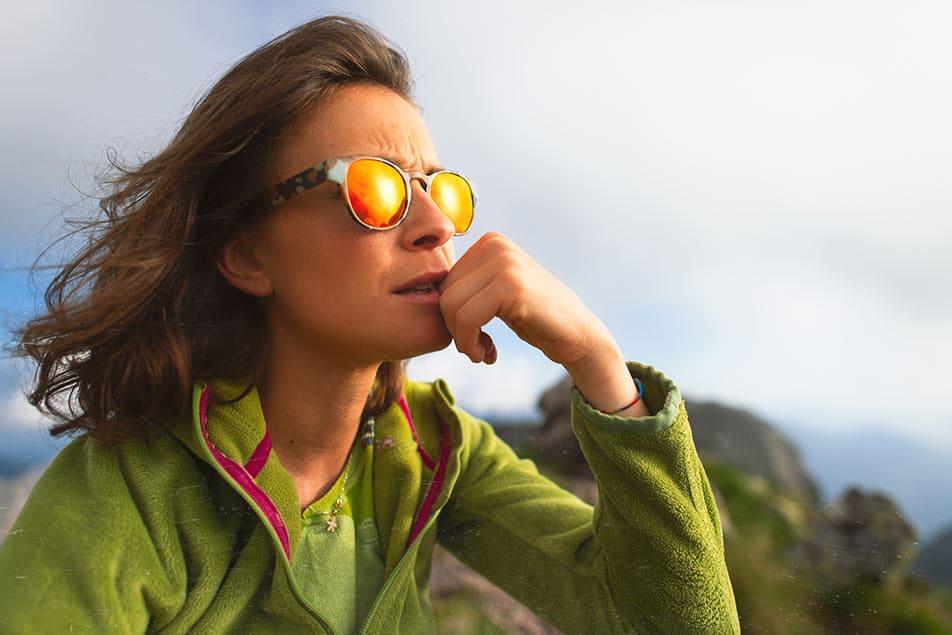 occhiali donna trekking
