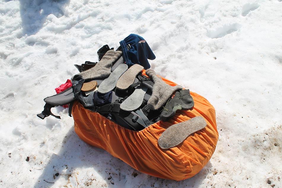 quali calze scegliere per il trekking