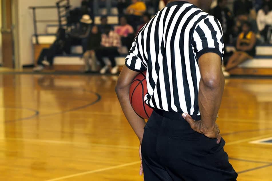 arbitro pallacanestro