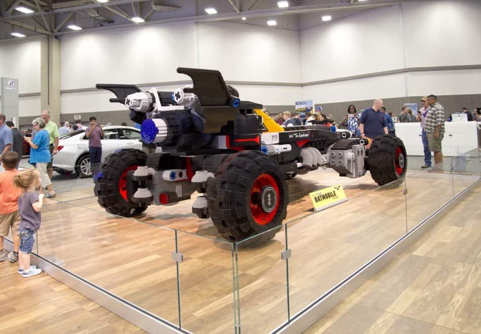Automobile Lego in Esposizione a Dallas
