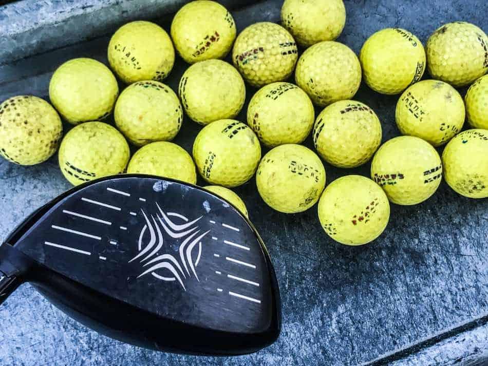 palline da golf allenamento