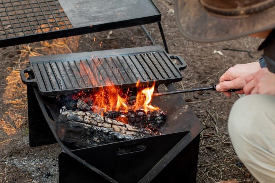 cucinare in campeggio