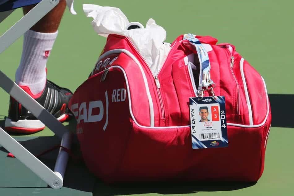 sacca da tennis