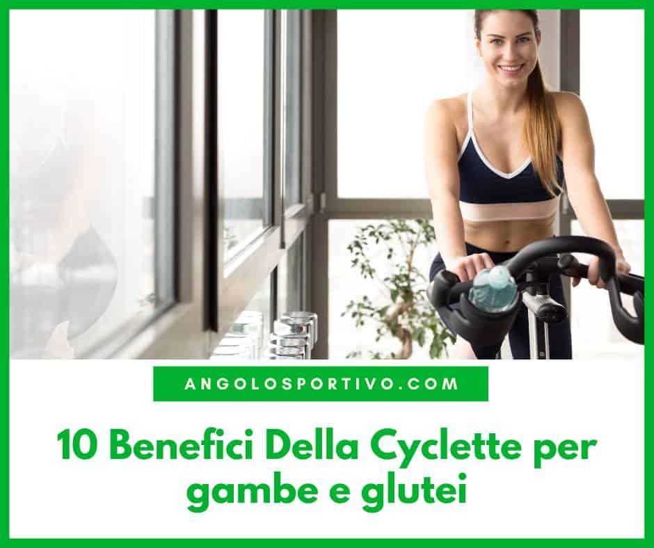 10 Benefici Della Cyclette per gambe e glutei